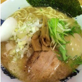 味玉こってり塩ラーメン(麺屋 新三 )