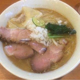 サンマそば(塩)(麺屋 清水 )