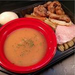 極絞り鶏白湯つけ麺(黄金盛り)
