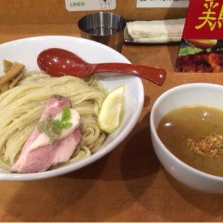 鶏パイタンつけ麺 中盛り(自家製麺 麺屋 翔)