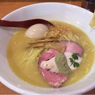 鶏白湯ラーメン味玉入り 並(麺屋 翔 )