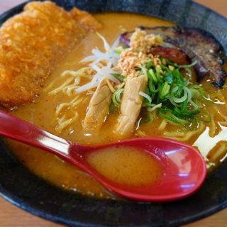 味噌カツラーメン(麺屋・國丸)