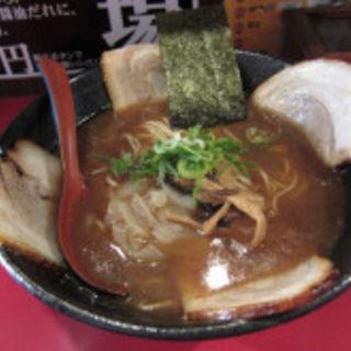 カツオ薫る中華そば+チャーシュー3枚増量