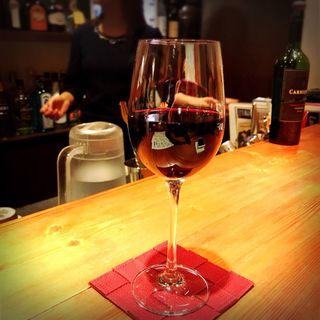 グラスワイン(赤)(M.E.S. Cafe & Bar)