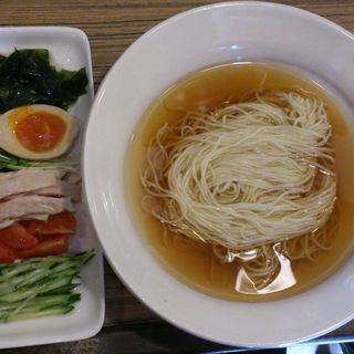 飲み干すスープの冷やし中華 かけStyle