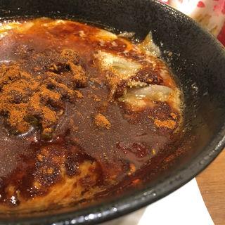 レッド担々麺(東京担々麺 RAINBOW 立川ラーメンスクエア店)