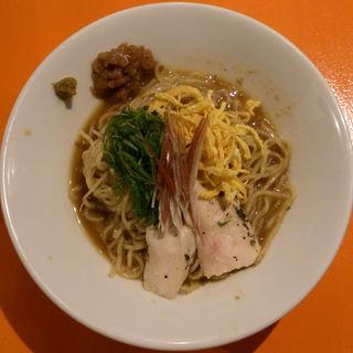 魚介と梅の冷やし中華(麺屋玉ぐすく )