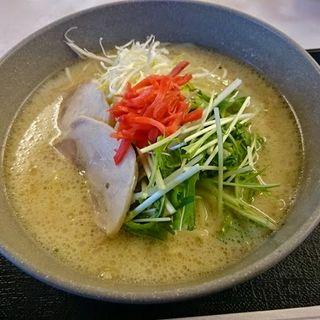 鶏白湯ラーメン(麺工房)