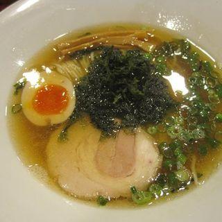 羅臼昆布醤油ラーメン(麺王道 勝 )