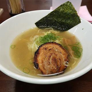 塩ラーメン(麺笑 有田屋)