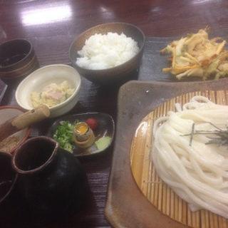 うどん定食(水曜限定)