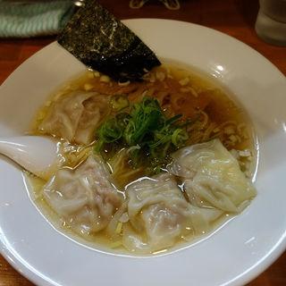 ワンタン麺(麺道我飯 (メンドウワガマンマ))