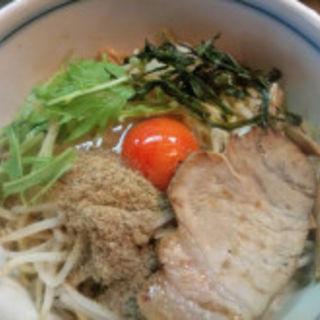 油そば(麺鮮醤油房 翔月 )