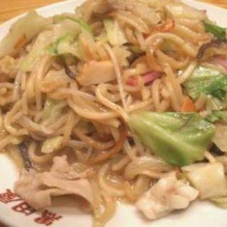 皿うどん(黒田屋の博多チャンポン)