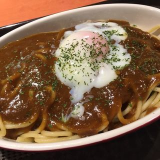 エッグカレースパゲティ(ナポリタンキッチン チュルリラ)
