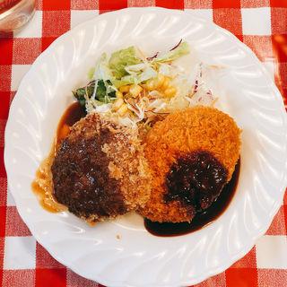 メンチカツと牛肉コロッケ(ラパン )