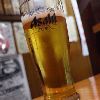 生ビール(鳥てん)