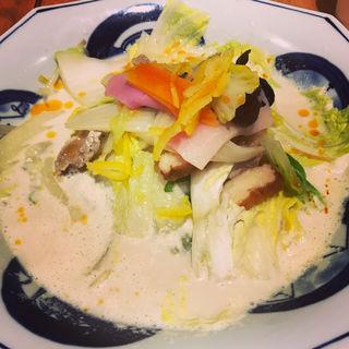白菜ちゃんぽん(リンガーハット 葛飾新宿店 )