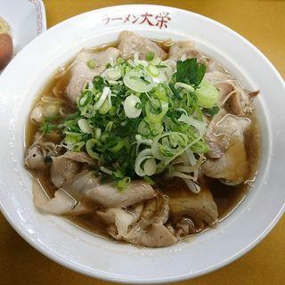 醤油ラーメン(元祖らーめん大栄 (がんそらーめんだいえい))