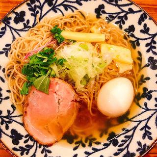鶏煮干しラーメン(鶏そば 新里 )