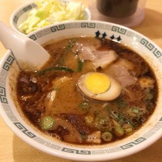 桂花ラーメン+キャベツ(桂花ラーメン 新宿ふあんてん )