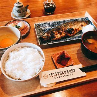 物凄い鯖の石窯焼き定食(ブルックリンパンケーキハウス (BROOKLYN PANCAKE HOUSE))