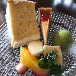 ランチのデザートセット (クロベイ (kurobei))