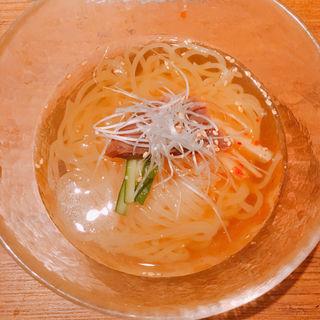 特製冷麺(焼肉うしごろ 西麻布本店 )