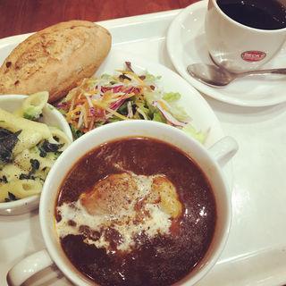 ごろごろビーフ&冬野菜のシチュープレート(ベックスコーヒーショップ 亀有店 (BECK'S COFFEE SHOP))