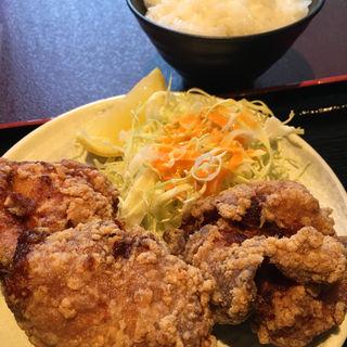 唐揚げセット(麺や 結)