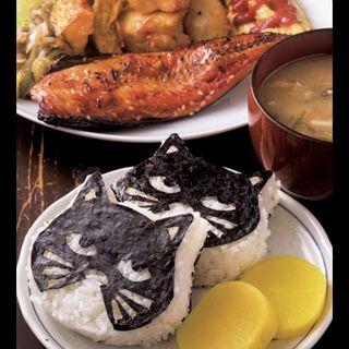 猫むすび御膳(黒猫舎 (クロネコシャ))