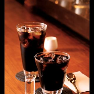 アイスコーヒー、ダッチコーヒー(西洋釣具珈琲店 Reels ((リールズ)))