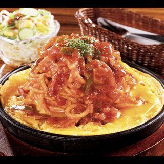 イタリアンスパゲティ(サラダ付き)(ココロカフェ (COCORO CAFE))