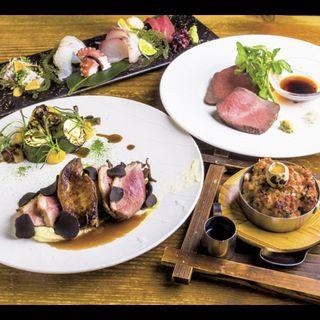 ツムラ本店 河内鴨のロッシーニ(DININGあじと )
