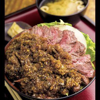 炭火焼炙り 肉重 サガリ(DININGあじと )