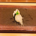 白魚の握り