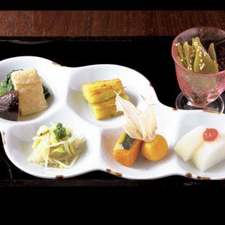 前菜(日本橋 三冨魯久汁八 )