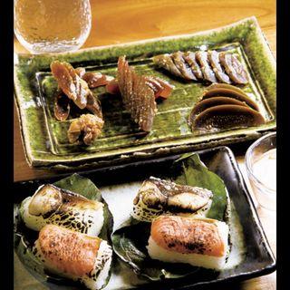 炙り柿の葉寿司(あをによし)