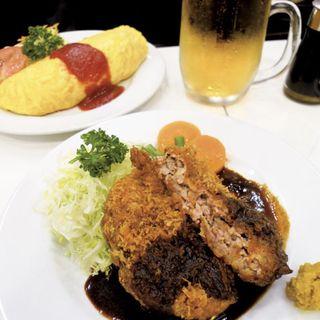 特製メンチカツ(レストラン桂 (カツラ))