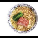 貝そば(淡口醤油味)
