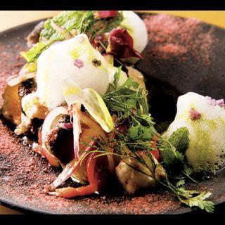 鮮魚のカルパッチョ(GYOZA!365)