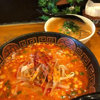 担々麺+ミニ天津飯セット