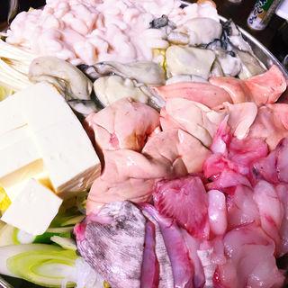 白子&あん肝&牡蠣&あんこう鍋(豊田屋 )