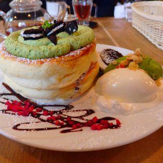 パンケーキ(PLUFFY cafe)