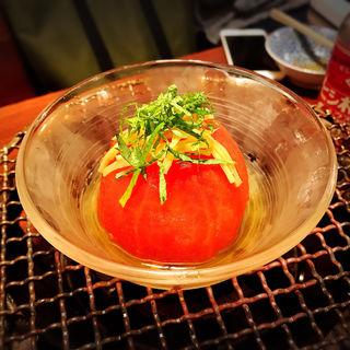 おだしトマト(鍋焼ぼうず)