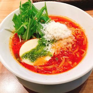 濃厚トマトスープ麺(麺Dining セロリの花 吉祥寺店 (松屋フーズ))