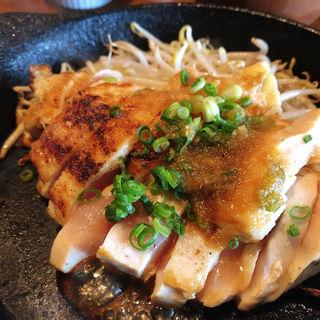 ムネステーキランチ(200g)(焼鳥 焼牛 健)