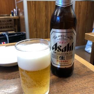 瓶ビール 小(一芳亭 本店 (イッポウテイ))