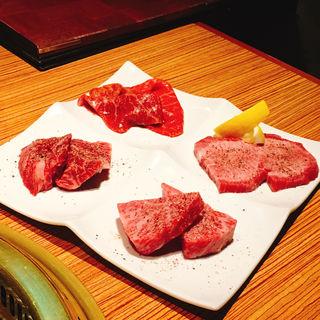 肉の4種盛り(Cossott'e sp 麻布十番 (コソット エスピー))