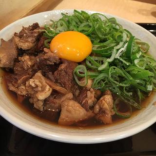 牛すじそば(田そば (デンソバ))